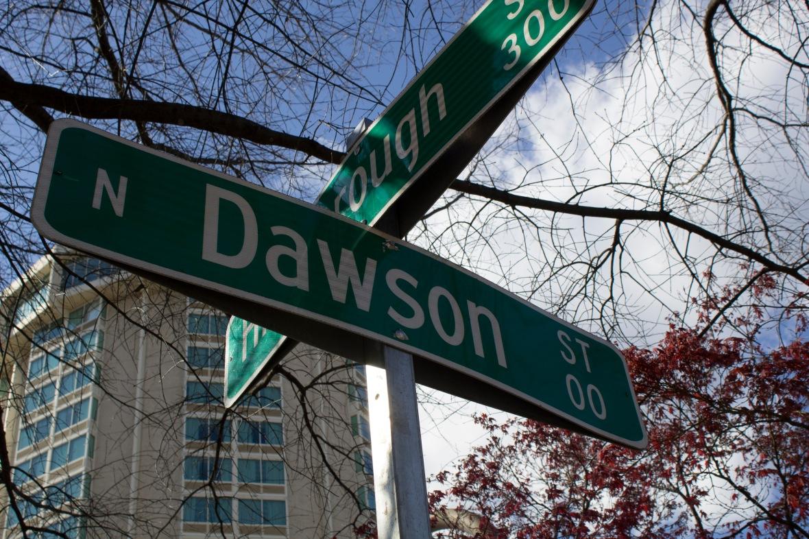 Dawson Street Sign