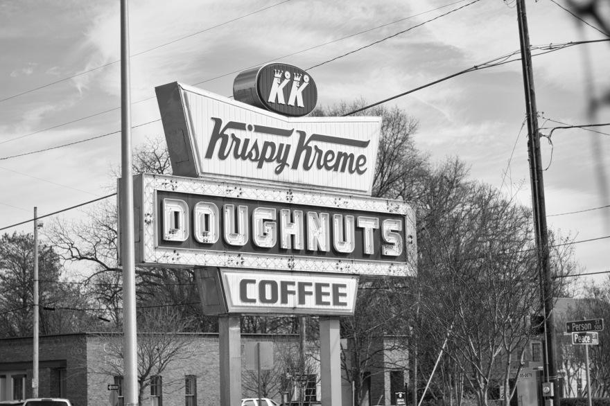 Krispy Kreme B&W