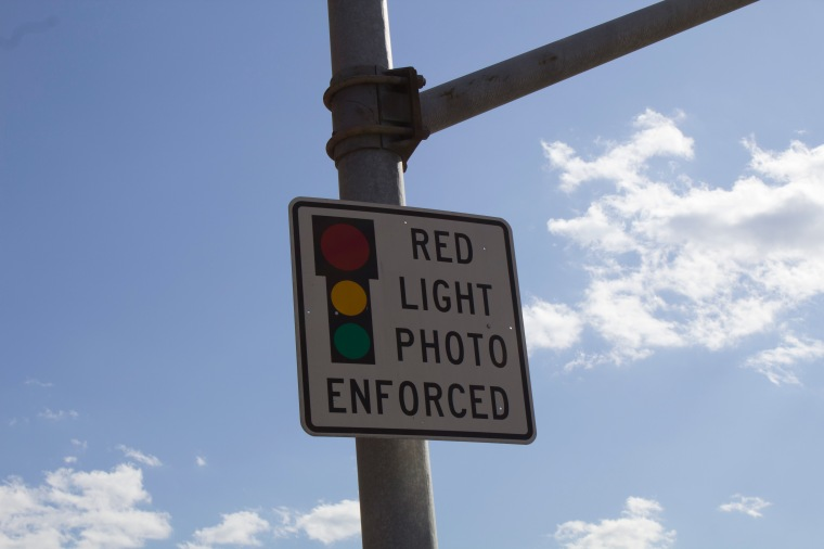 Red Light Enforced