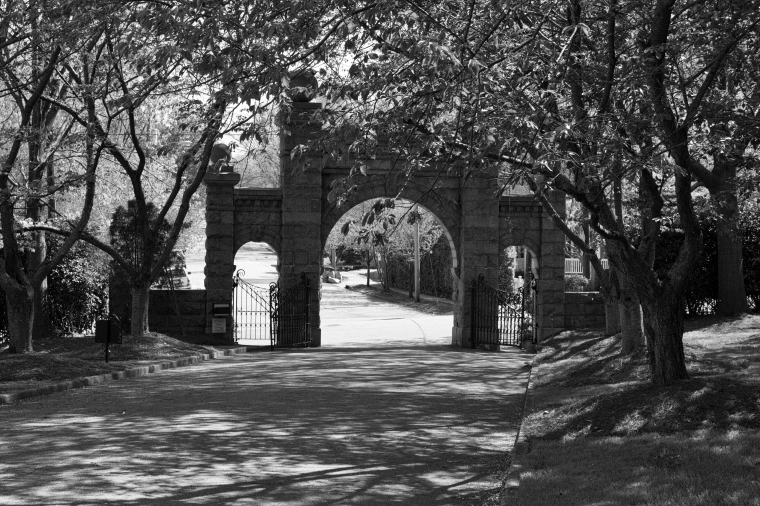 Gates of Oakwood Cemetary