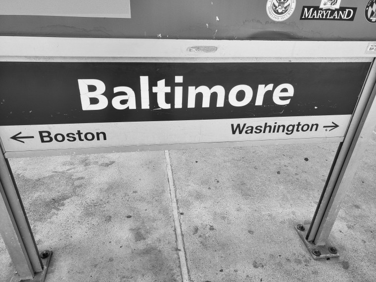 Baltimore Train 1