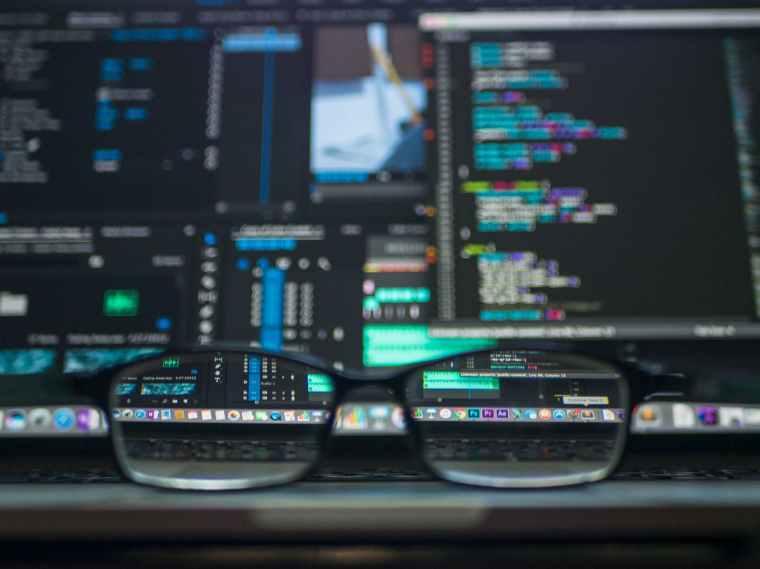 coding computer data depth of field