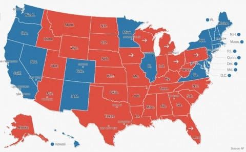 red states