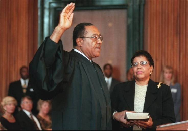 Henry frye swearing in 1999
